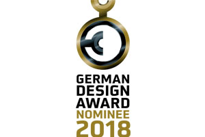 Nomination for the German Design  Award 2018