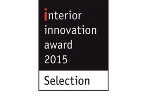 Interior Innovation Award 2015 Selection for LOU lounge chair