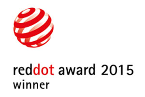 Red Dot Award 2015 for BRUNE: LOU awarded for high design quality