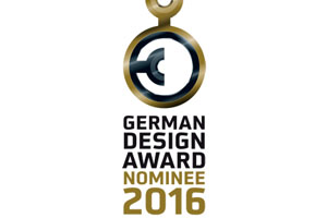 GRAND, GRAND CHAIR and LOU nominated for the German Design Award