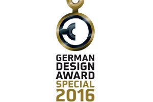 German Design Award 2016 – Special Mention for GRAND CHAIR and GRAND TABLE