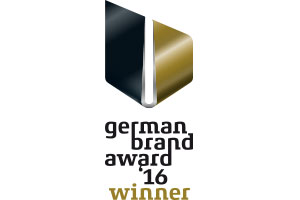 BRUNE gagne le German Brand Award 2016