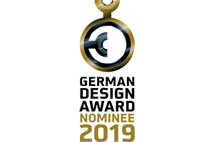 3 products have been nominated for the German Design Award